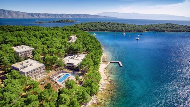 Le LABRANDA Senses Resort est situé sur l'île de Hvar en Croatie - DR Labranda