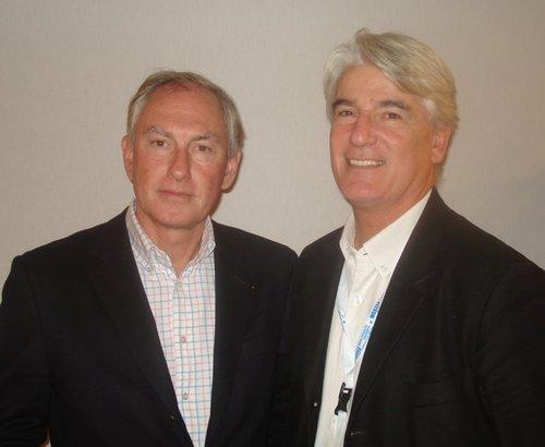 Les deux nouveaux actionnaires, Christian Garin et Joël Cannac.