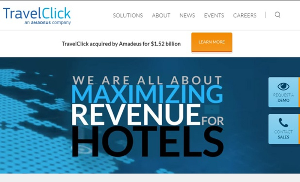 TravelClick intégrera la division « Hospitality » d'Amadeus, qui sera dirigée par Francisco Pérez-Lozao - DR Capture écran