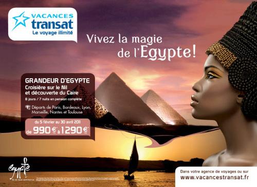 Egypte : Vacances Transat part en campagne