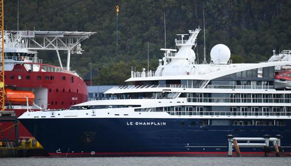 Le Champlain est le 7e navire de Ponant - Crédit photo : Ponant