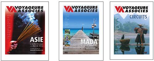 """Voyageurs Associés édite ses brochures """"Asie"""" et """"Mada"""""""