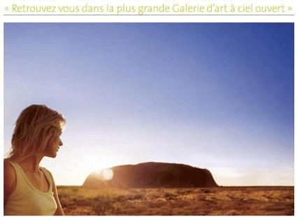 L'OT d'Australie et Qantas lancent une nouvelle campagne de pub