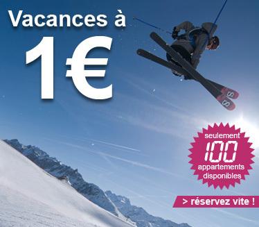 Madame Vacances : 100 appartements à 1 euro à la neige
