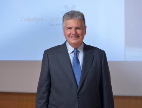Leslie Peden, directeur commercial monde de Celestyal Cruises - DR