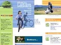 Site Internet du CDT Lozère