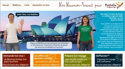 Tourism Australia lance un site dédié au Visa Vacances-travail