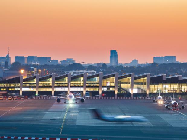 L'aéroport belge se situe au milieu d'une zone de 15 millions d'habitants ... dont de nombreux français © Brussels Airport, Tom Dhaenens
