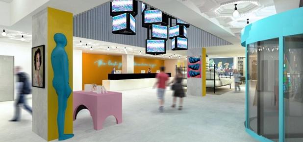 NH Group transforme son hôtel de Bruxelles aux couleurs de sa marque Nhow - crédit photo NH Hotel