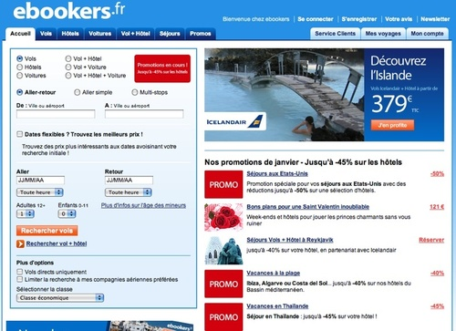 L'année 2011 verra ainsi arriver le 1er site