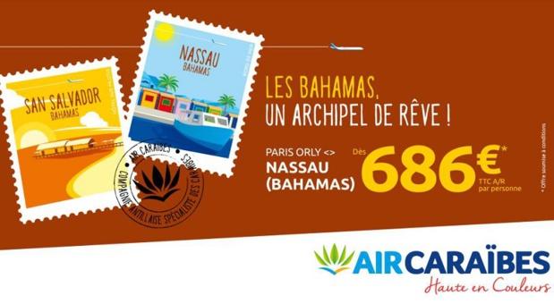 Les Bahamas reliés à Paris Orly avec Air Caraïbes et Bahamasair  - DR