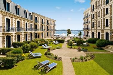 L'Hôtel Barrière Le Grand Hôtel Dinard fermera ses portes le 5 novembre 2018 - DR Barrière