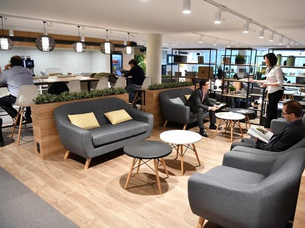 Le nouveau hall offre aux passagers une atmosphère plus agréable, davantage de places assises et de multiples points de vente - DR : Air Malta
