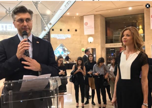 Andrej Plenkovic, Premier Ministre de la Croatie / crédit photo LSJ