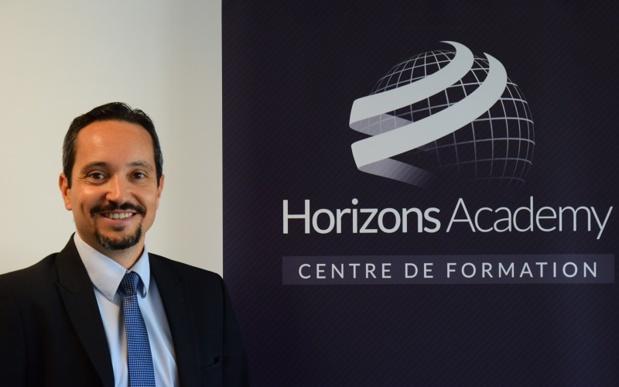 Cédric Jullian, gérant d'Horizons Academy. - DR Horizons Academy