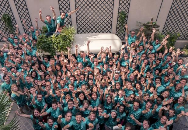 L'équipe Evaneos en avril 2018. - DR Evaneos