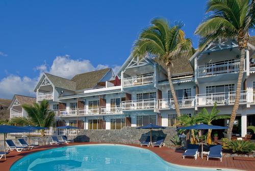 Boucan Canot : Le 4 * de 42 chambres et 8 suites, face à l'Océan de Frédéric Veyrier - DR