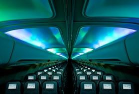 """L'appareil """"Hekla Aurora"""" est totalement consacré au phénomène - Crédit photo : Icelandair"""