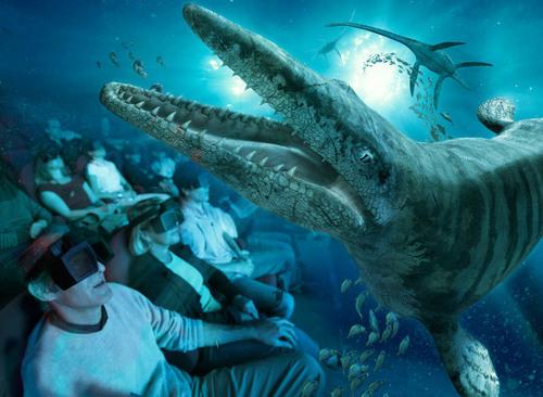 Les Monstres des Mers, un film en 3 dimensions incroyablement réaliste
