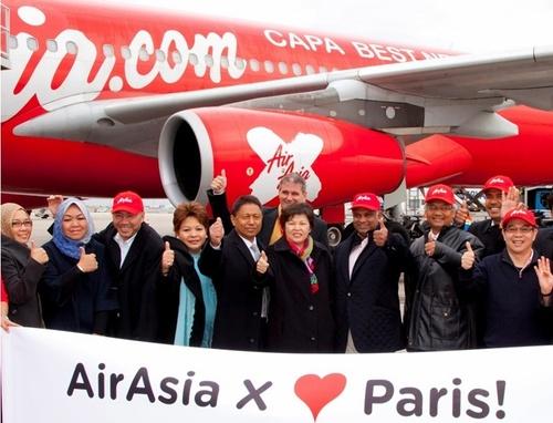 Le premier vol qui a quitté KL pour rejoindre Paris avait un remplissage de 85%...