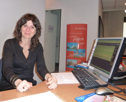 Christiane Patino Herfort chef d'agence des Voyages Péreire à Paris