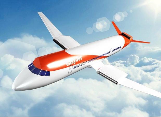 easyjet travaille sur un projet de moteur électrique sur les appareils court-courrier - Photo Easyjet