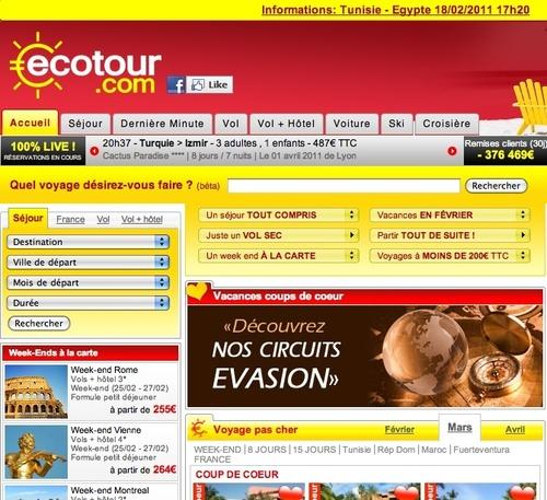 """Ecotour.com : """"Il faut renvoyer l'ascenseur à la Tunisie"""""""