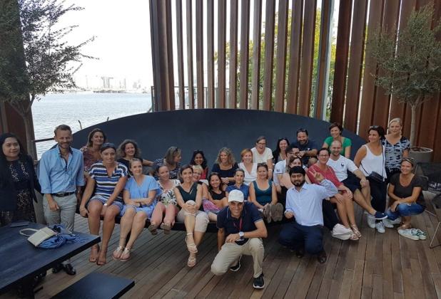 Les 25 participants à l'éductour organisé par TUI pour découvrir le Club Lookéa Ajman Dubaï - DR TUI