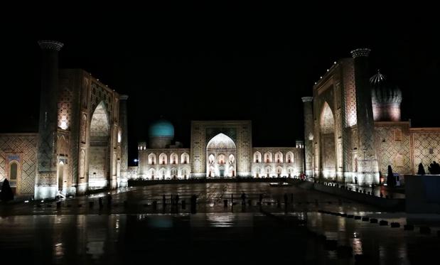 La célèbre place du Reghistan, où se déroulaient châtiments et exécutions / crédit photo JDL