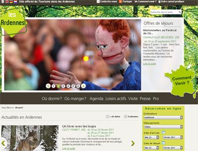 Le site du CDT Ardennes fait peau neuve