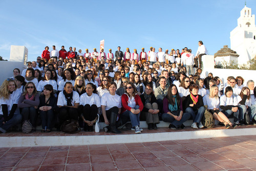 Les 160 agents invités par Fram, dans le village de Guellala - DR : A.B.