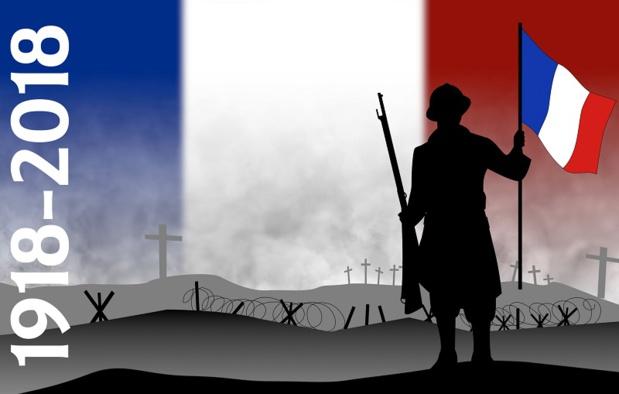 Dimanche 11 novembre 2018, la France célébrera les 100 ans de la signature de l'Armistice de 1918, qui marque la fin des combats de la Première Guerre mondiale - DR : Deposit Photos Philipimage