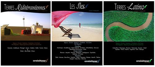 Nouvelles brochures Croisitour : le papier complémentaire du web... et vice et versa