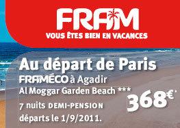 Fram lance une campagne sur le Maroc