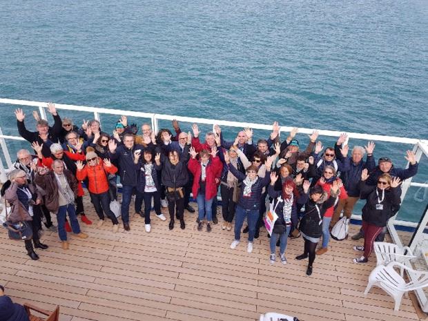 Les 50 invités de Nationaltours pour le départ de la Route du Rhum - DR
