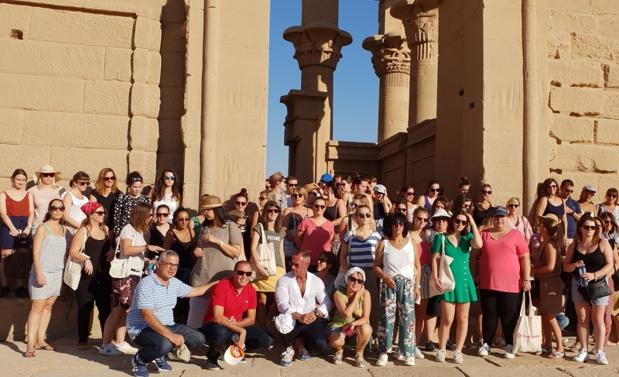 Travel Evasion invite une centaine de professionnels du tourisme sur son eductour en Egypte. Phot: Aurélie Resch