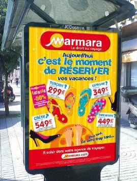 Marmara lance une campagne d'affichage