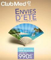Club Med : 1000 séjours à moins de 990€