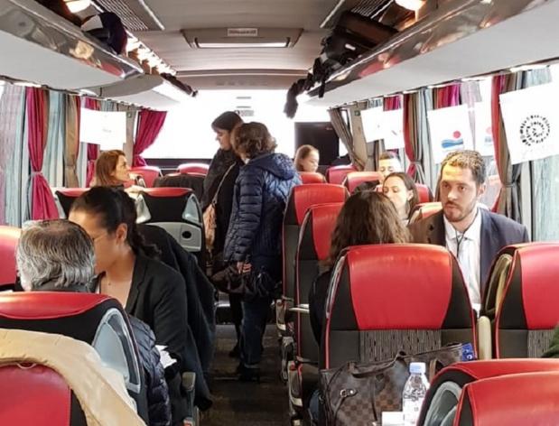 A la rencontre des professionnels du tourisme à Rennes et à Lorient. Photo: Ismahane Yassin