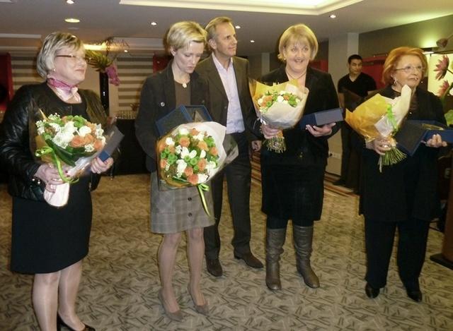Les Femmes du Tourisme ont remis mardi leur Trophée 2011