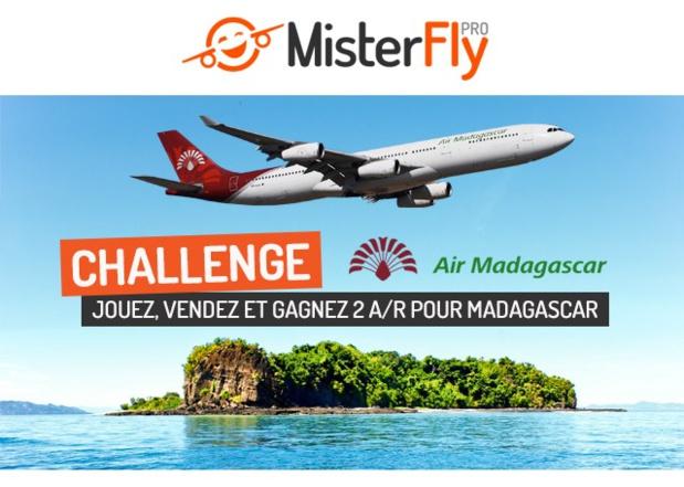 MisterFly et Air Madagascar lancent un challenge de ventes