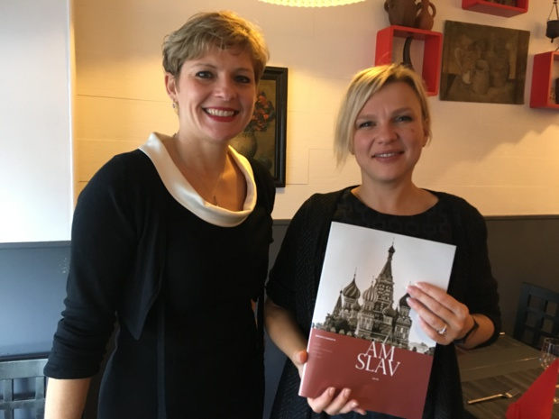 Natacha Demoux, directrice des ventes et Tatiana Maltseva, directrice de la production. - CL