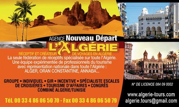 voyage algerie france