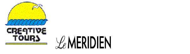 Creative Tours exposera au Salon Meedex (Pavillon Dauphine / Stand C17) du 30 au 31 Mars 2011, en partenariat avec l'hotel 5* de Luxe, Le Meridien.