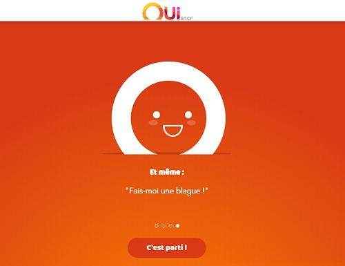 Ouibot, l'assistant conversationnel de Oui.sncf - DR