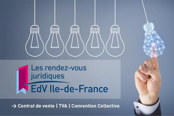 """Les EdV Île-de-France mettent en place des """"rendez-vous juridiques"""" trimestriels"""