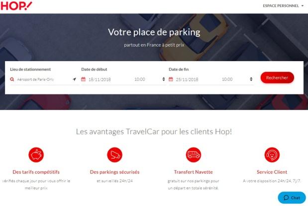Hop! devient partenaire de Travelcar avec une plateforme dédiée hop.travelcar.com - DR