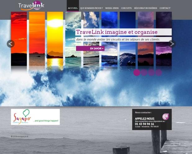 L'agence Travelink a définitivement mis la clé sous la porte - DR : Capture d'écran site Travelink