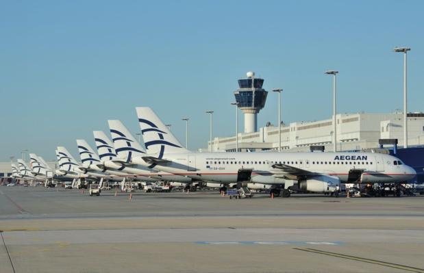 Aegean Airlines vole vers 5 destinations grecques depuis Paris-CDG © Aegean
