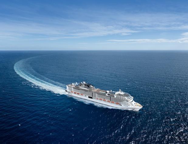 Le navire débutera son voyage inaugural à Gênes, en Italie, le 8 novembre 2020. Il naviguera en Méditerranée et fera notamment escale à Barcelone et Marseille - DR : MSC Croisières